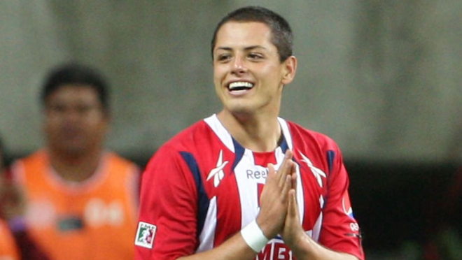 Chicharito first goal for Chivas