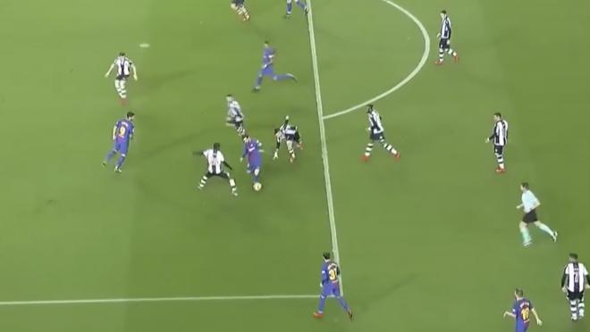 Messi Dribbling Assist vs Levante