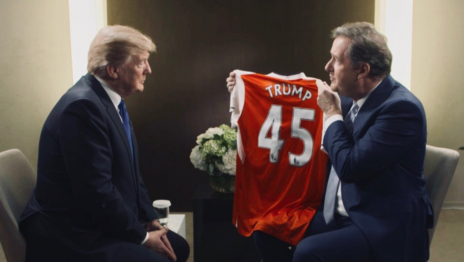 Trump Arsenal Jersey