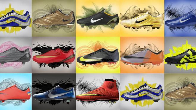 Nike Mercurial Boot History