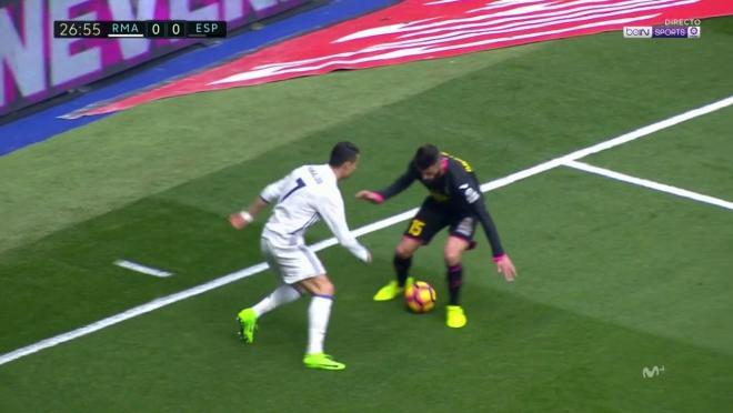 Cristiano Ronaldo Elastico vs Espanyol