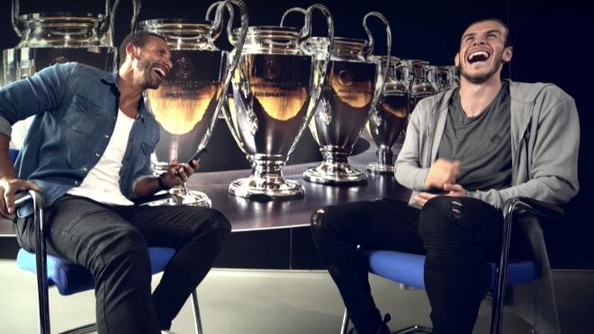 Rio Ferdinand Interviews Gareth Bale