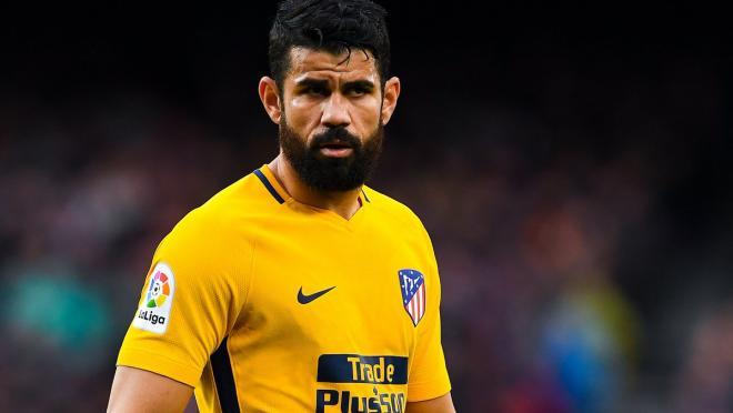 Diego Costa Asks Ter Stegen For Ball