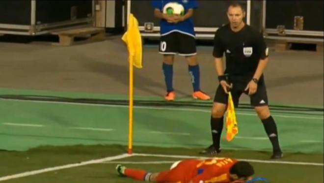 Corner Kick Soccer Fails