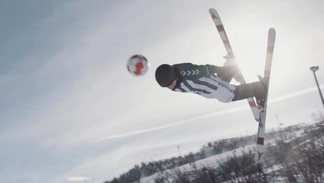Freestyle Ski Soccer