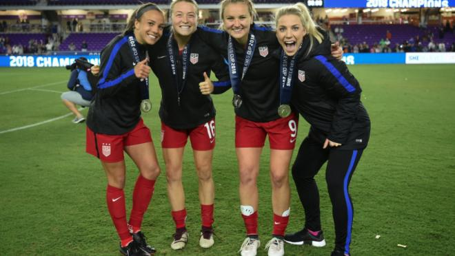 USWNT Win SheBelieves Cup