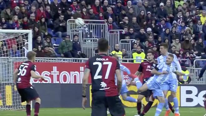 Ciro Immobile Goal vs Cagliari
