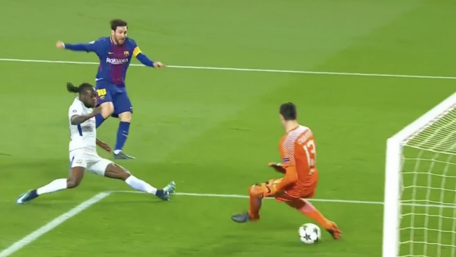 Lionel Messi Nutmeg Goals