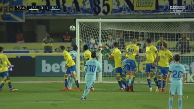 Messi Free Kick Goal