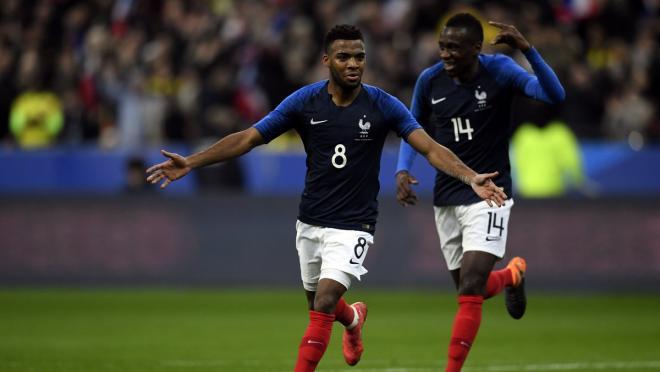 France Team Goal vs Colombia