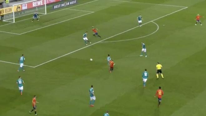 Iniesta Assist Against Germany