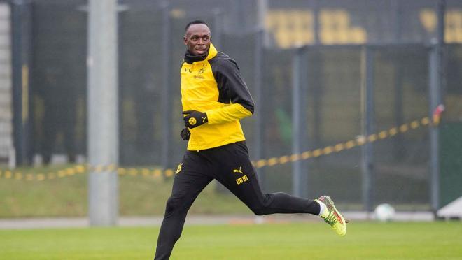 Usain Bold Borussia Dortmund Goal
