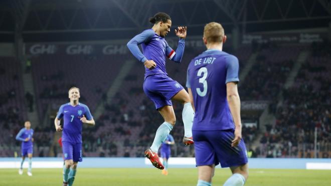 Virgil Van Dijk Goal vs Portugal