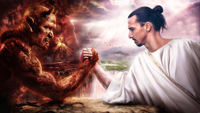 Zlatan has said some outrageous things in the past