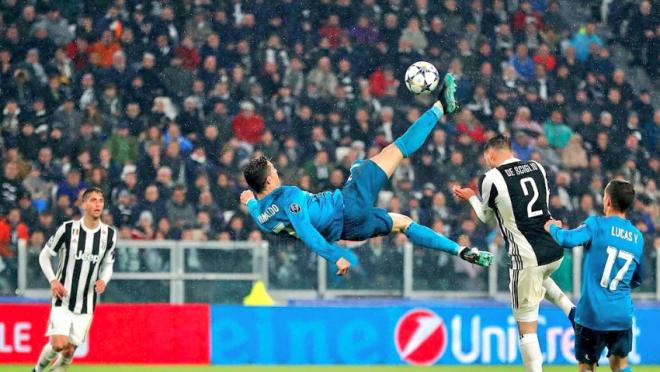 Cristiano Ronaldo Bicycle kick attempts