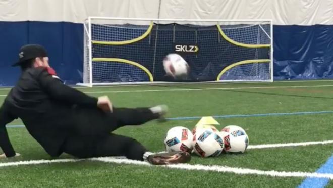 Weird Soccer Drill