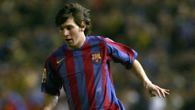Lionel Messi 5-Years-Old