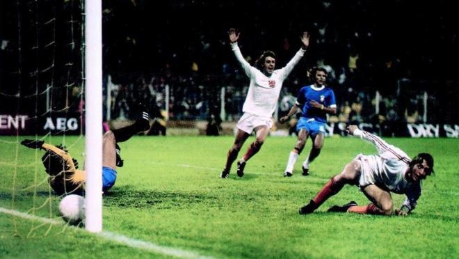 Holland vs Brazil 1974