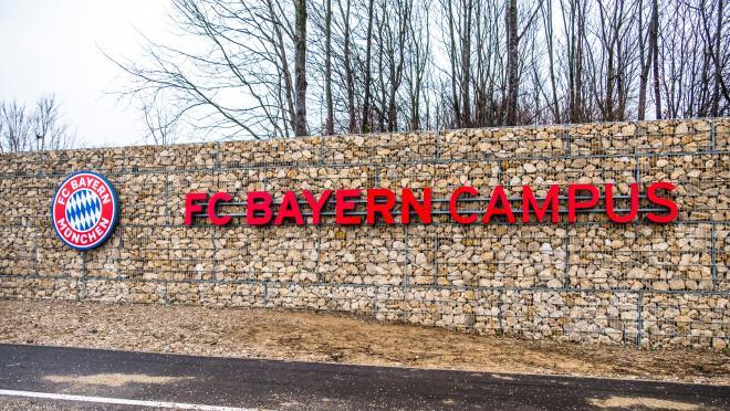 Bayern Munich's Campus Tour