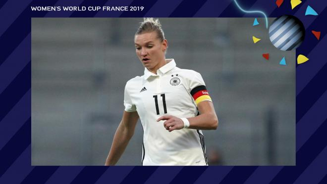 Alexandra Popp Germany Women's World Cup