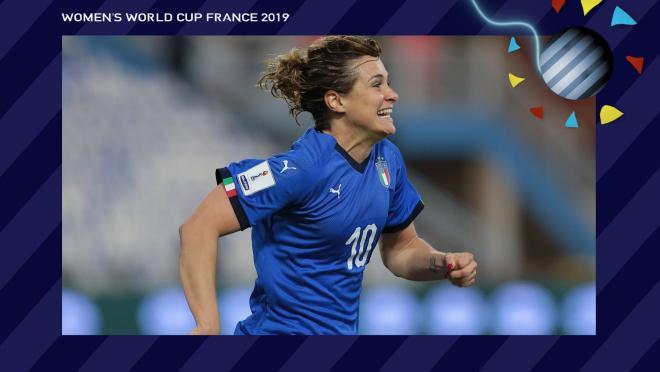 Cristiana Girelli Italy Women's World Cup