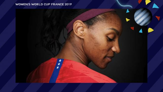 Crystal Dunn USA Women's World Cup