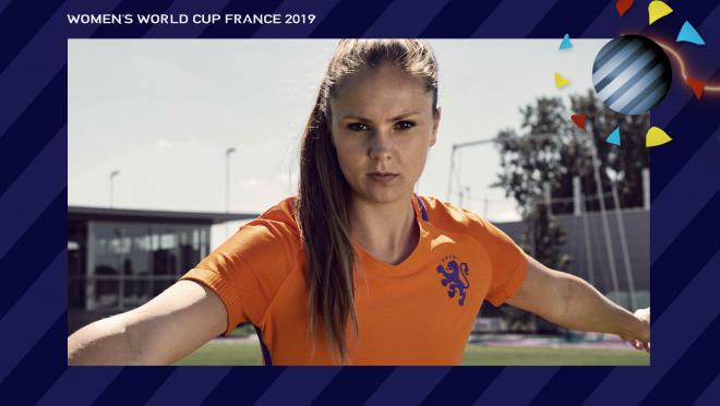 Lieke Martens Netherlands Women's World Cup