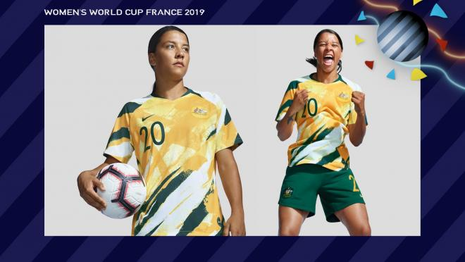 Sam Kerr Australia Women's World Cup