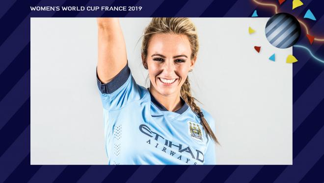 Toni Duggan England Women's World Cup
