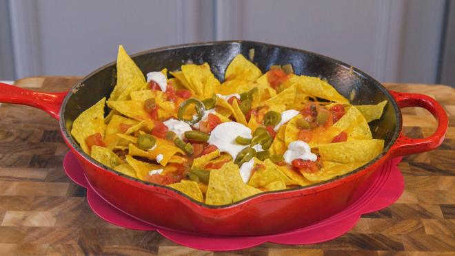 Game Day Skillet Nachos
