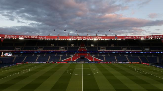 Empty PSG stadium