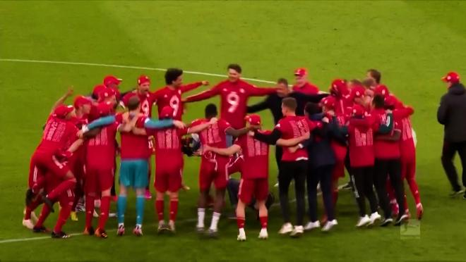 Bayern Celebrate Win