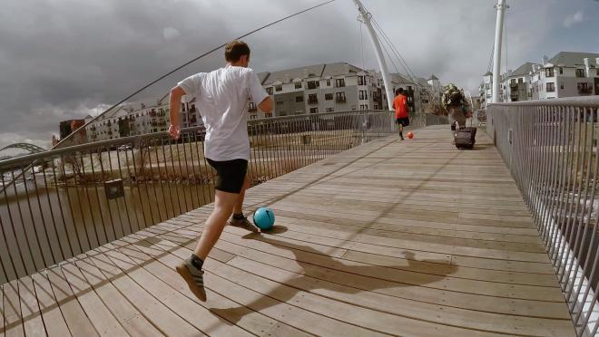 The Great Urban Soccer Race