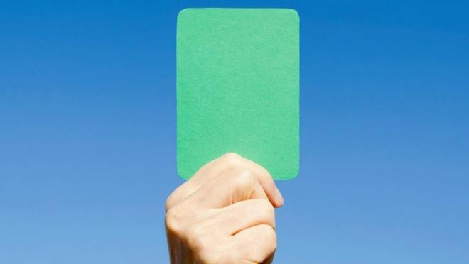 Green Card soccer