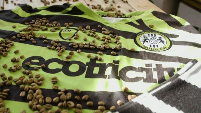 Jerseys Made From Coffee