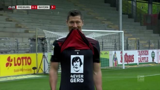Lewandowski Season Goal Record