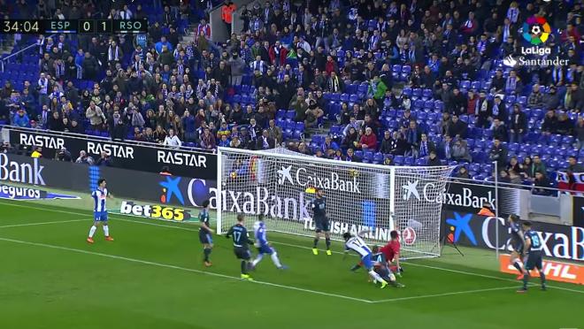 Perez Goal for Espanyol