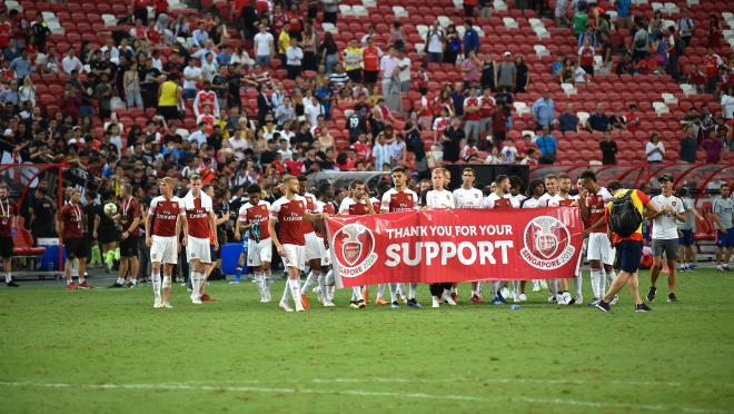 Arsenal Shows Appreciation For Fans