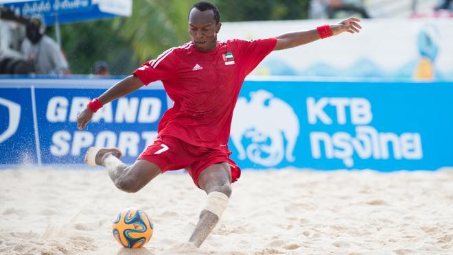 Hasan Alhammadi Beach Soccer