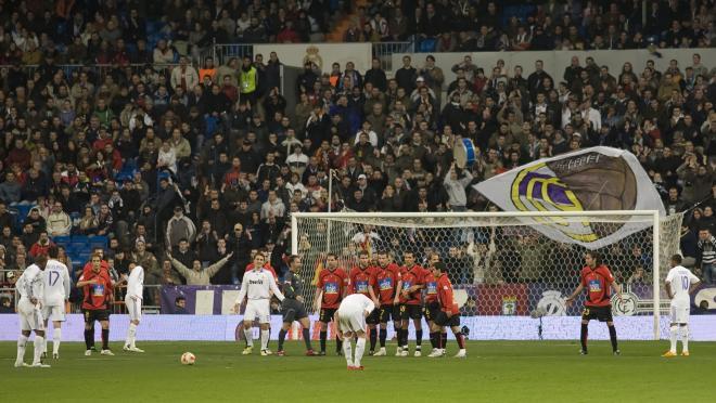 Real Madrid Free Kick in La Liga