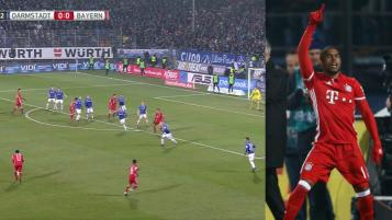 Douglas Costa goal vs. Darmstadt