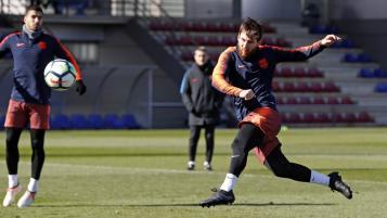 Lionel Messi Training Video