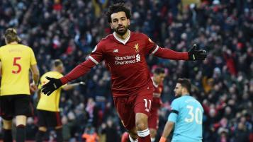 Mohamed Salah goal vs Watford