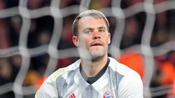 Manuel Neuer Double Save