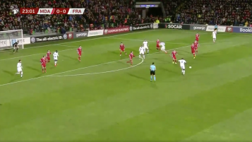Griezmann Goal vs Moldova