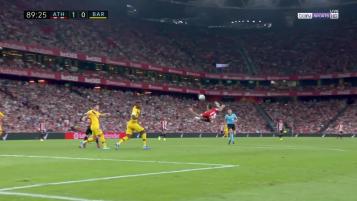 Aduriz Goal vs Barcelona