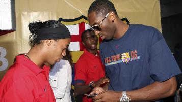 When Kobe Bryant met Lionel Messi