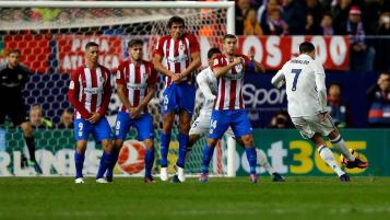 Ronaldo now has 44 hat-tricks