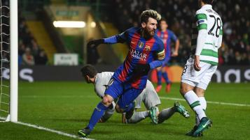 Barcelona defeat Celtic 2-0