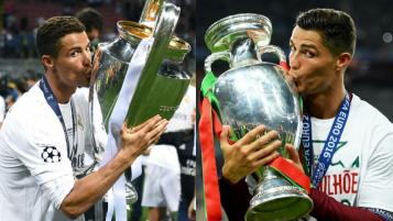 Cristiano Ronaldo World Soccer Player of the Year